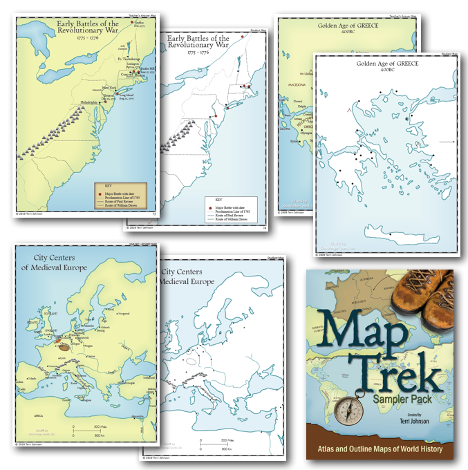 Map trek outline maps of the ancient world download the map trek sampler with 32 historical outline maps to try them out for yourself gumiabroncs Images